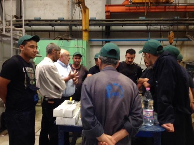 Formation aux techniques de régulage chez M.E.I. - Algérie - oct 2013