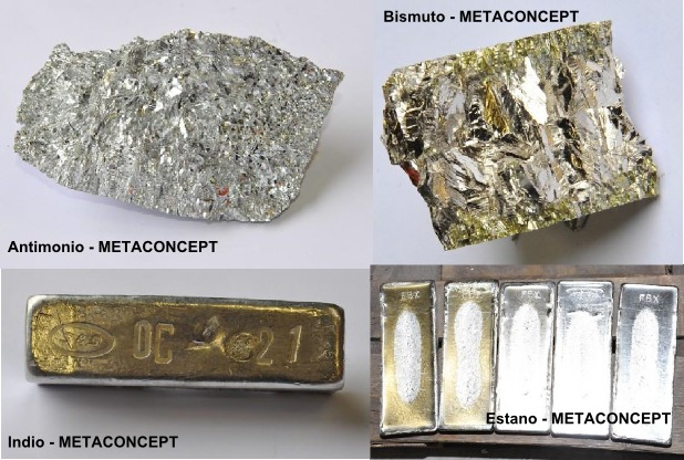 Metales puros y aleados