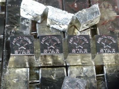 Achat lingots d'antimoine étain pur ou plomb